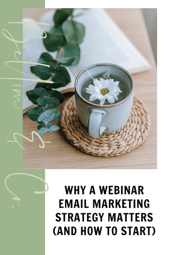 Why A Webinar Email Marketing Strategy Matters (and How To Start)   Tatiana Belim